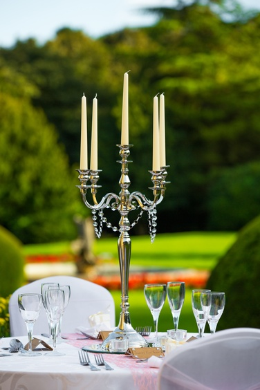 Silver Candelabra - Sophia's Final Touch - Venue Styling - Weddings