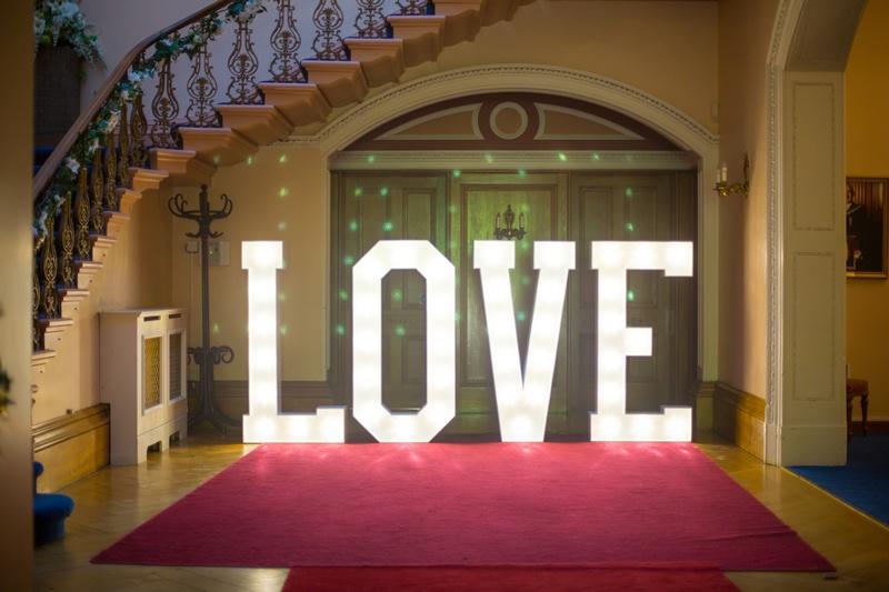 Giant 5Ft Light up LOVE Letters