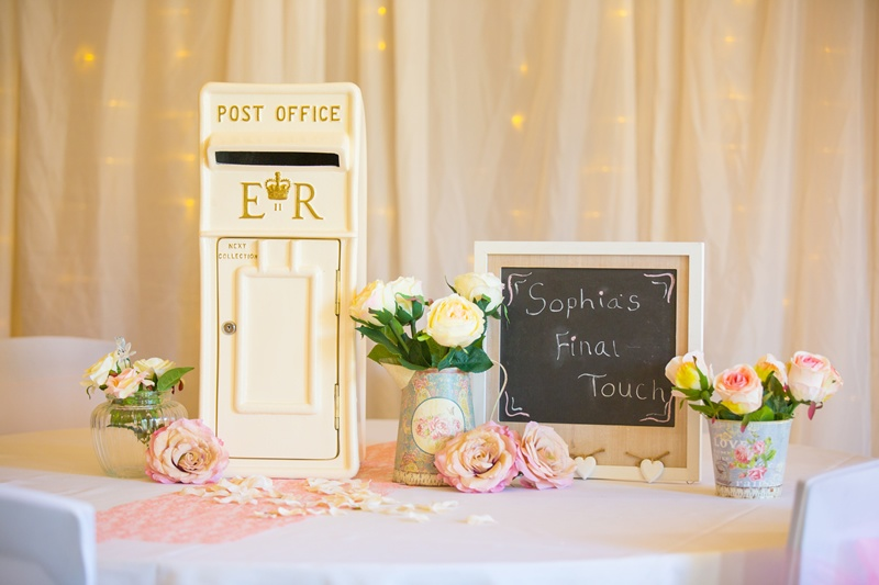 Traditional Royal Mail Post Box - Sophia's Final Touch - Venue Styling - Weddings