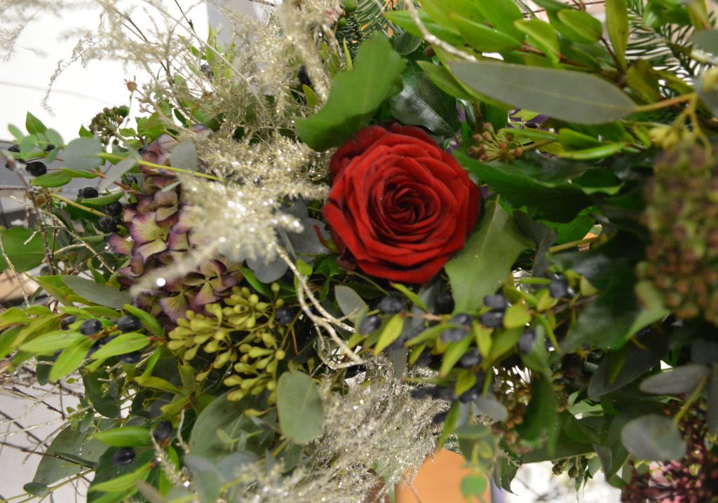 Venue Styling - Asparagus fern - Flower Arch - Sophia's Final Touch