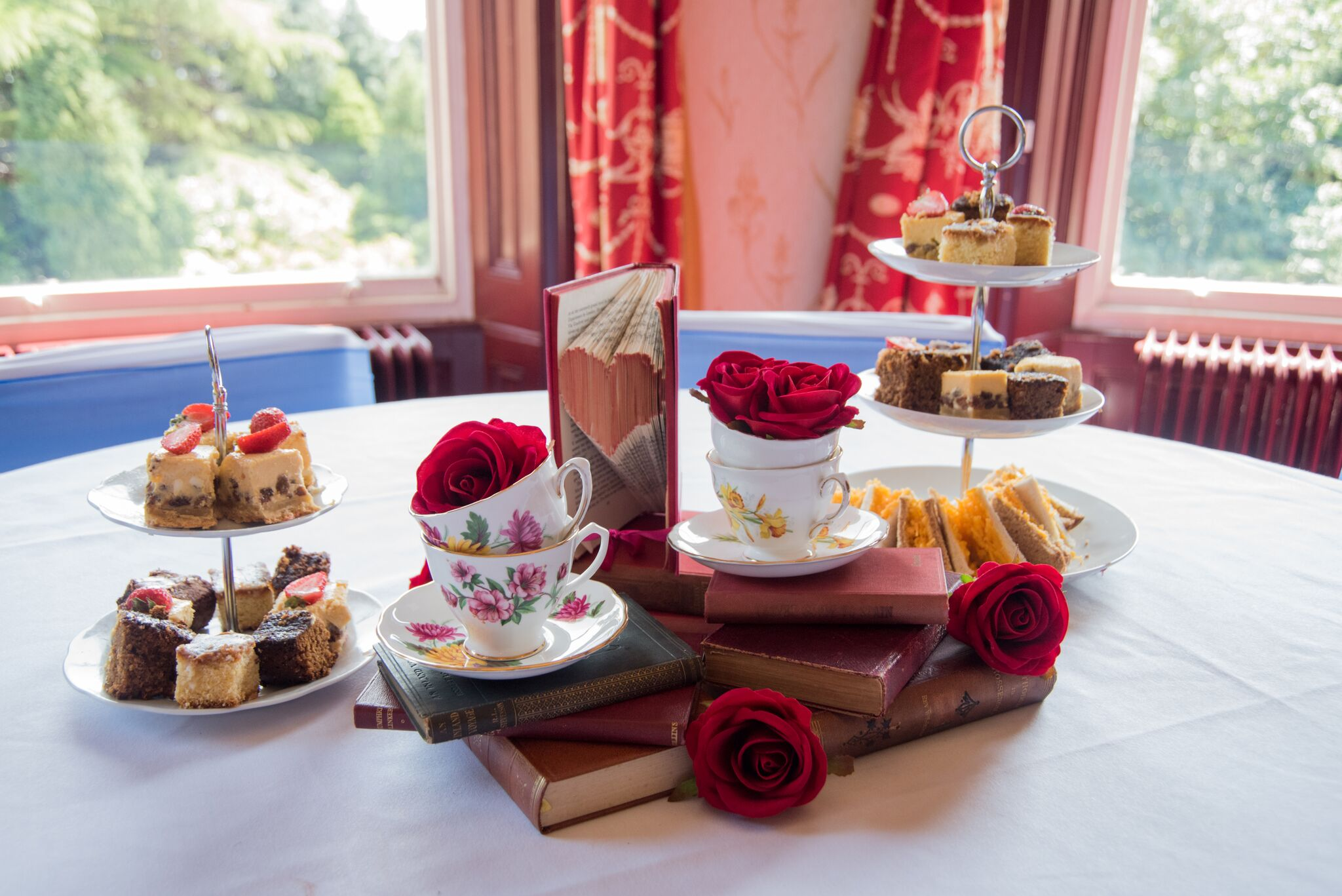 Afternoon Tea Centrepiece Photography - Adele Drummond Sophia's Final Touch - Venue Styling - Weddings