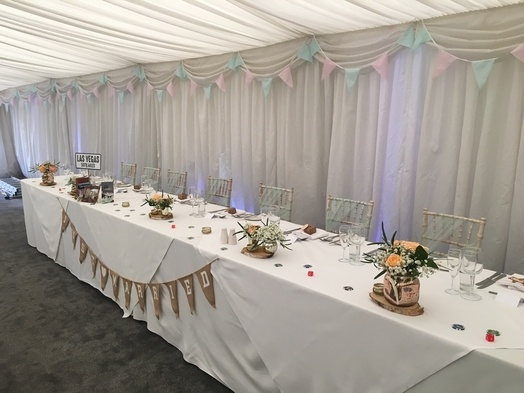 Bespoke Travel Themed Top Table Decor - Wedding Venue Styling- Sophia's Final Touch