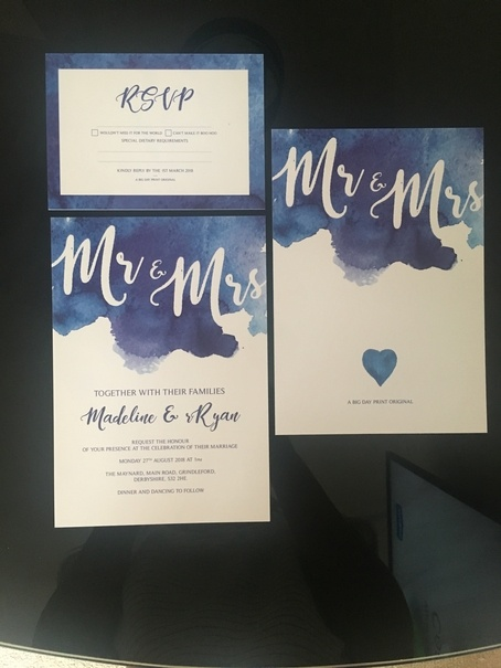 Bespoke Wedding Invites Wedding Venue Styling- Sophia's Final Touch