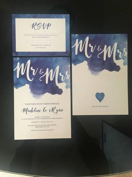 Bespoke Wedding Invites Wedding Venue Styling- Sophia's Final Touch