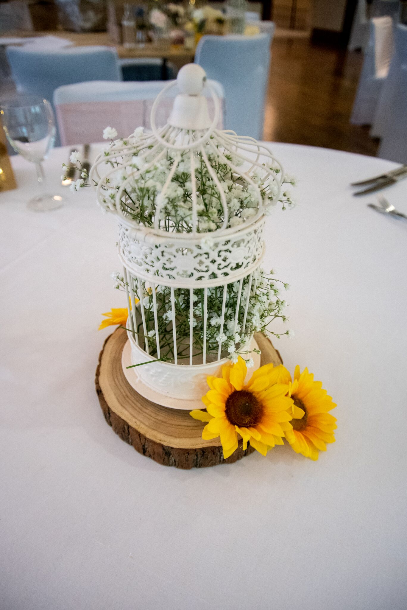 Birdcage - Rustic with Gyp Photography - Adele Drummond Sophia's Final Touch - Venue Styling - Weddings