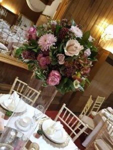 Fresh Flower Ball – Wedding Venue Styling- Sophia's Final Touch