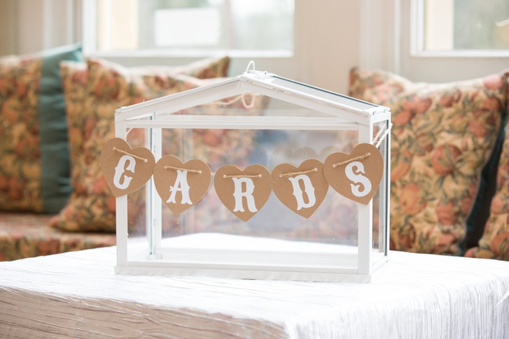 Glass House Cards Box- Sophia's Final Touch - Venue Styling - Weddings