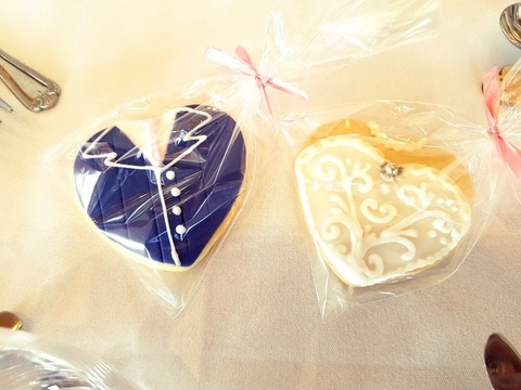 and- Made Wedding Favours - Shortbread Biscuits - Wedding Venue Styling- Sophia's Final Touch