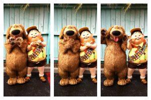 Dug & Russel - up Disney
