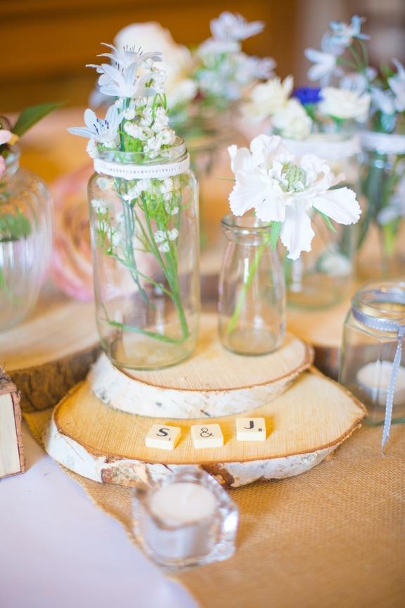 Jams Jars & Wood – Wedding Venue Styling- Sophia's Final Touch- Wedding & Event Decoration