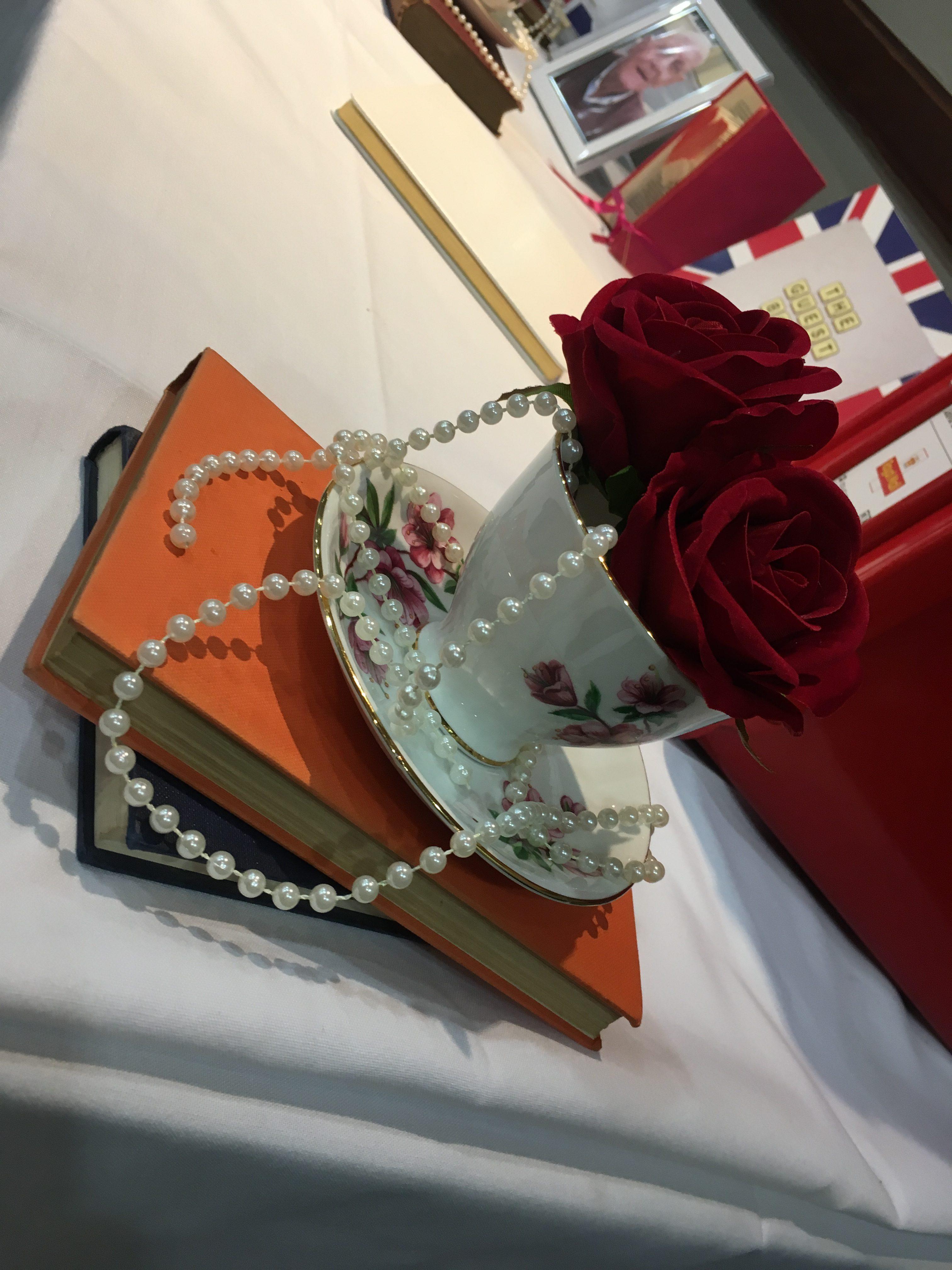 Red Tea Cups - St Pauls Sophia's Final Touch - Venue Styling - Weddings