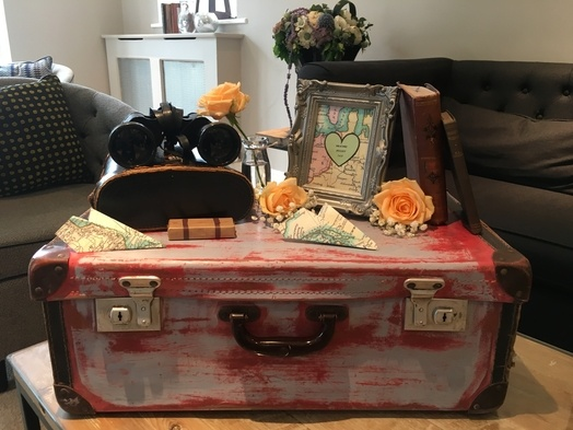Travel Themed Decorations - Wedding Venue Styling- Sophia's Final Touch
