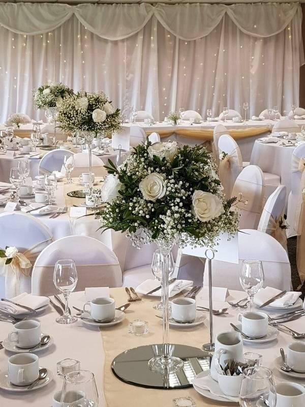 Twinkle Backdrop - Barnsley Fc Wedding - Sophia's Final Touch - Venue Styling - Weddings