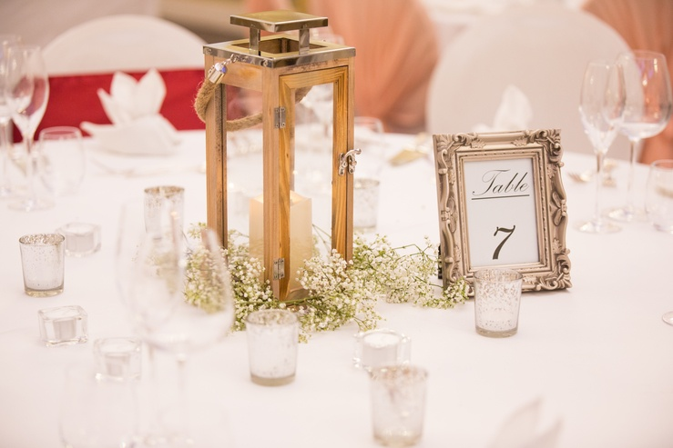 Vintage Frame Table Numbers - Sophia's Final Touch - Venue Styling - Weddings & Event Decoration