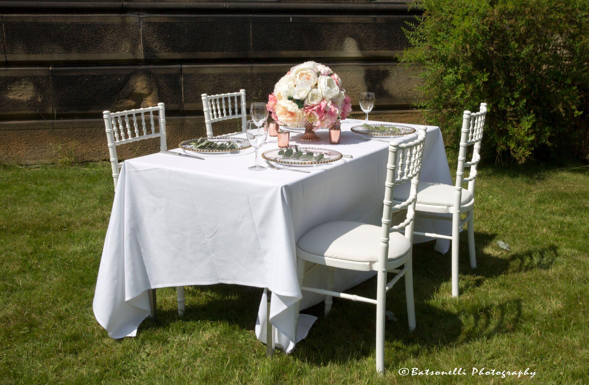White Chiavari Photography Gill Baston Sophia's Final Touch - Venue Styling - Weddings