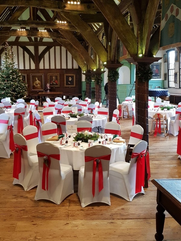 Chirtmas Wedding at Merchant Hall- Wedding Venue Styling- Sophia's Final Touch