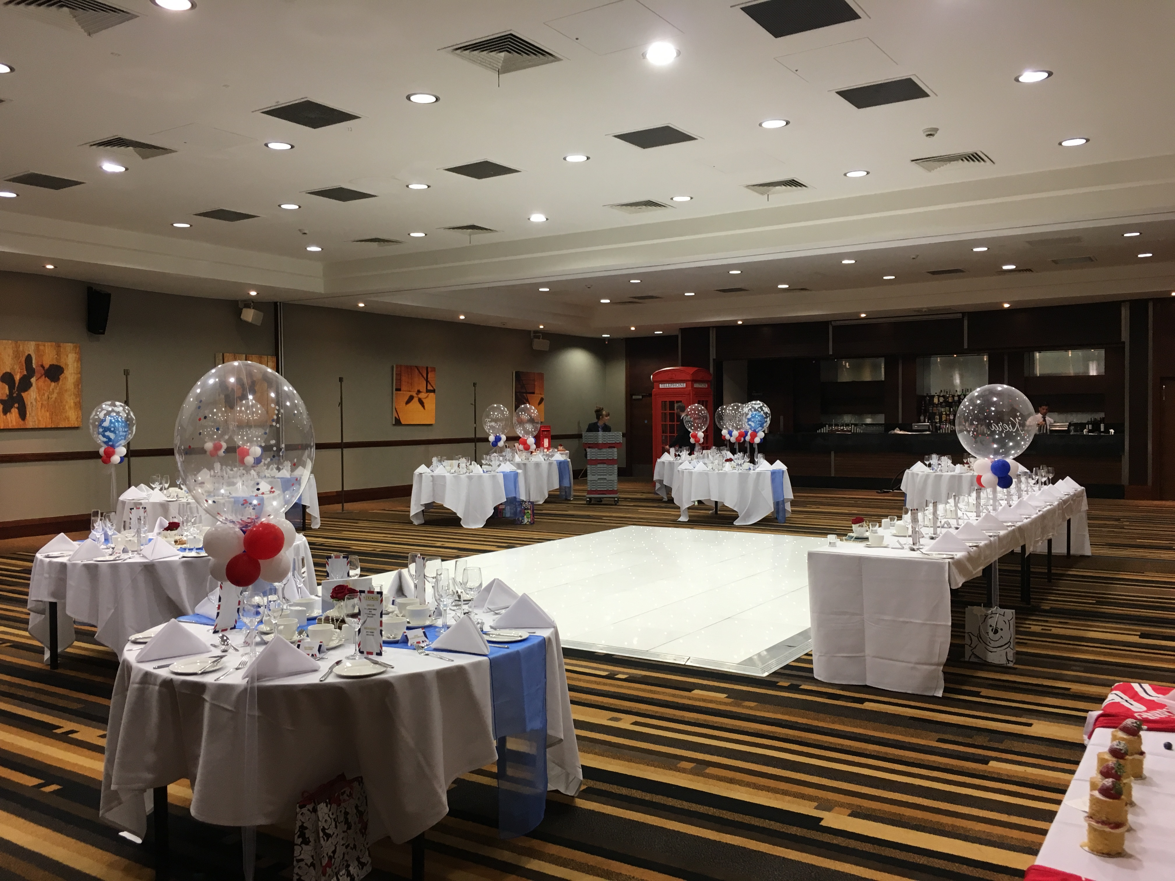 Best of British Themed wedding at St Pauls Mercure Sheffield Sophia's Final Touch - Venue Styling - Weddings