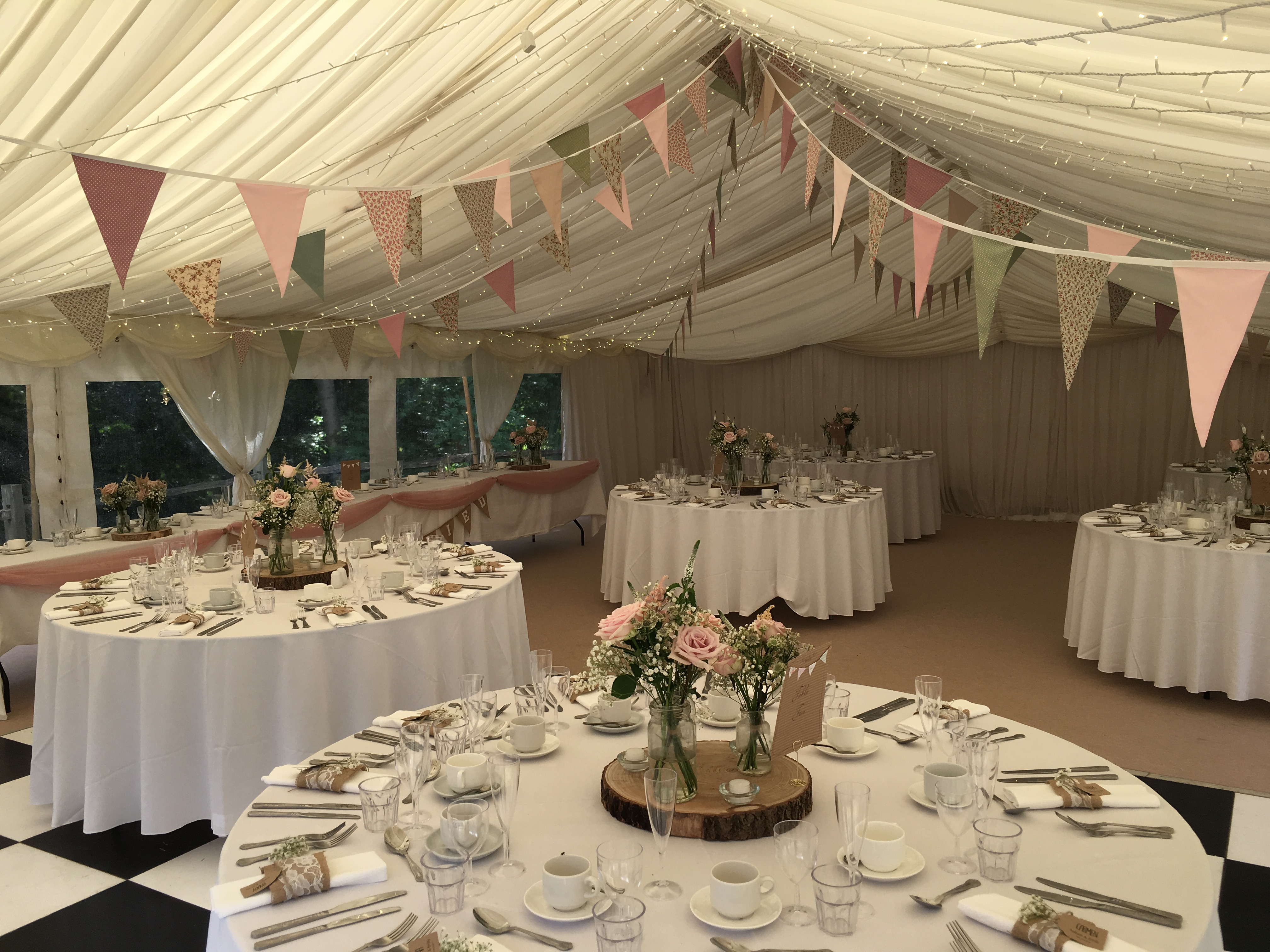 Rustic wedding at Eccessall Woods Dicovery Centre Sophia's Final Touch - Venue Styling - Weddings