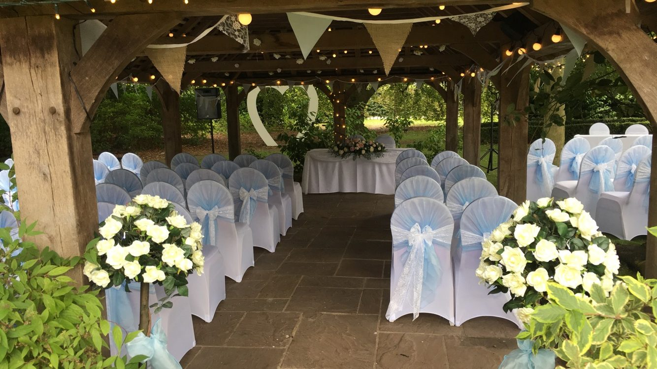 Tiffany Blue wedding at Ye Olde Bell Sophia's Final Touch - Venue Styling - Weddings