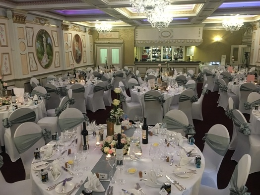 Wedding Breakfast - Rossington Hall - Wedding Venue Styling- Sophia's Final Touch
