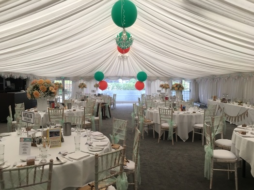Wedding Breakfast - Woodlands Leeds - Wedding Venue Styling- Sophia's Final Touch