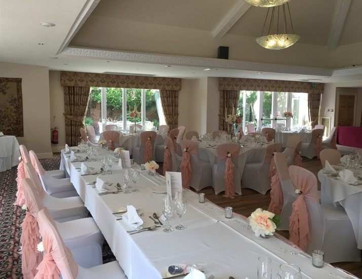 Wedding Breakfast at Mount Pleasant, Doncaster - Wedding Venue Styling- Sophia's Final Touch