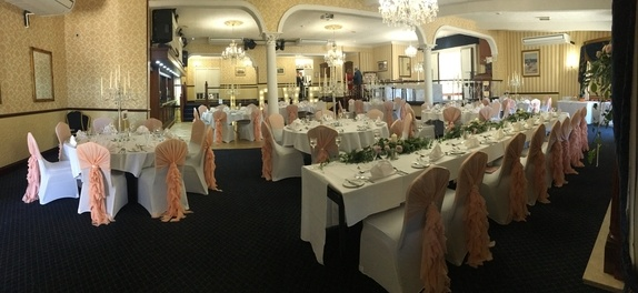 Wedding Breakfast - Kings Croft Pontefract - Wedding Venue Styling- Sophia's Final Touch