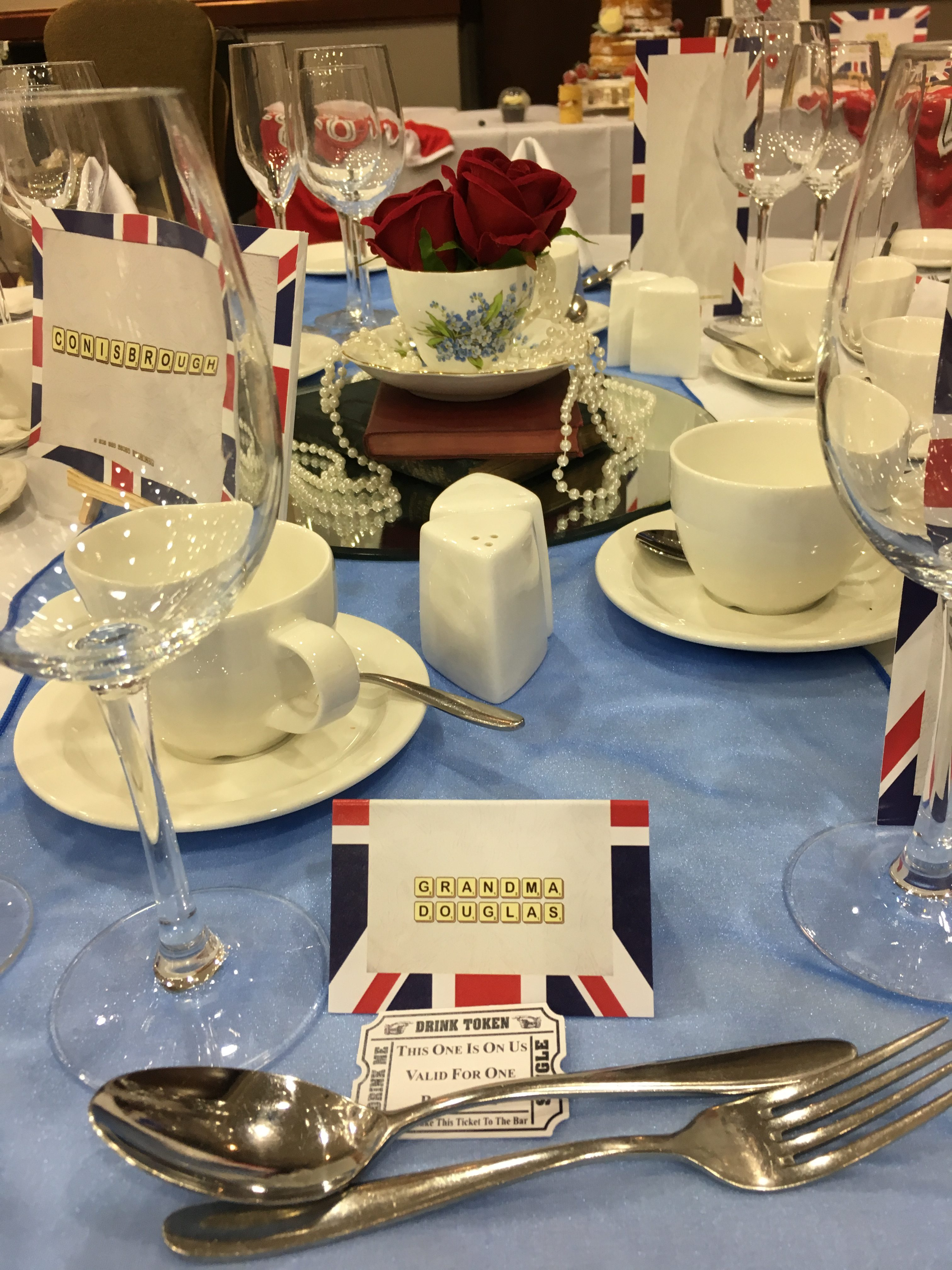 Best Of British Place Cards Big Day Print Sophia's Final Touch - Venue Styling - Weddings
