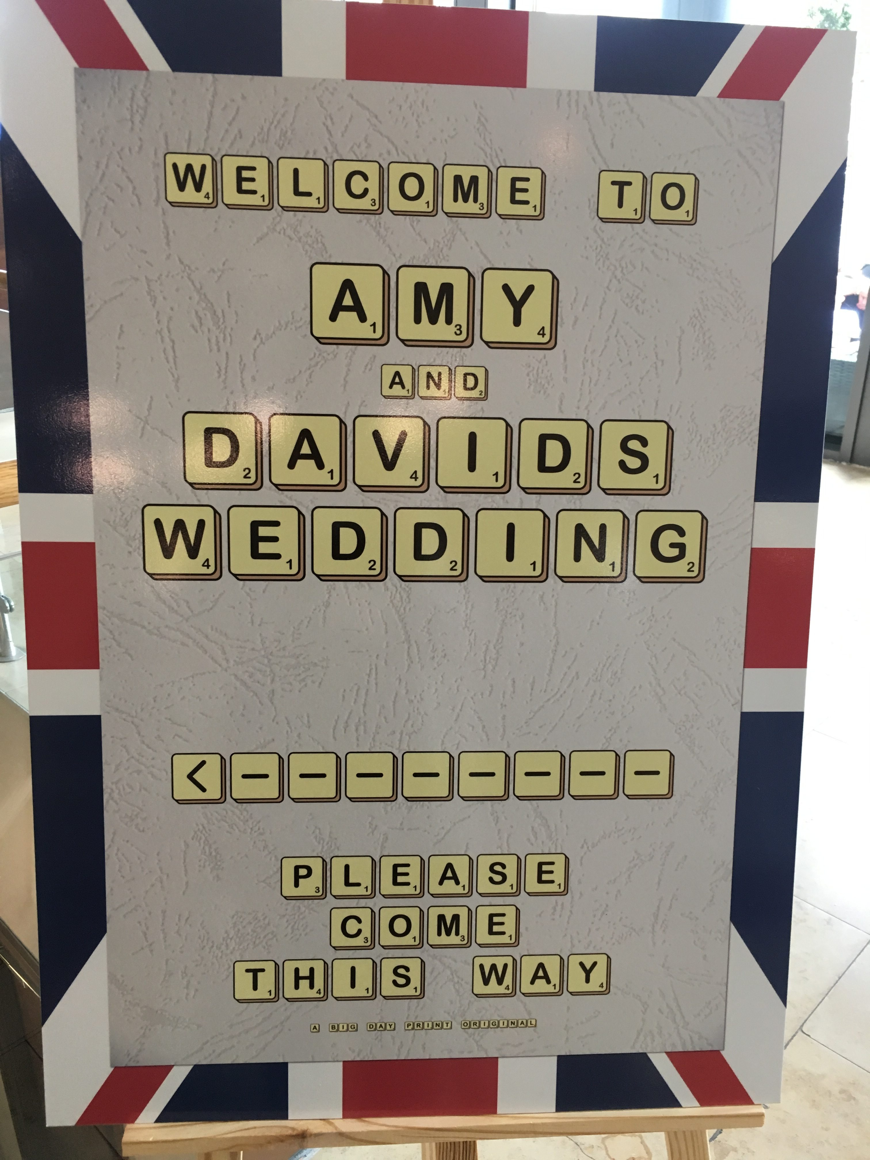 Best Of British Wedding This way Big Day Print Sophia's Final Touch - Venue Styling - Weddings
