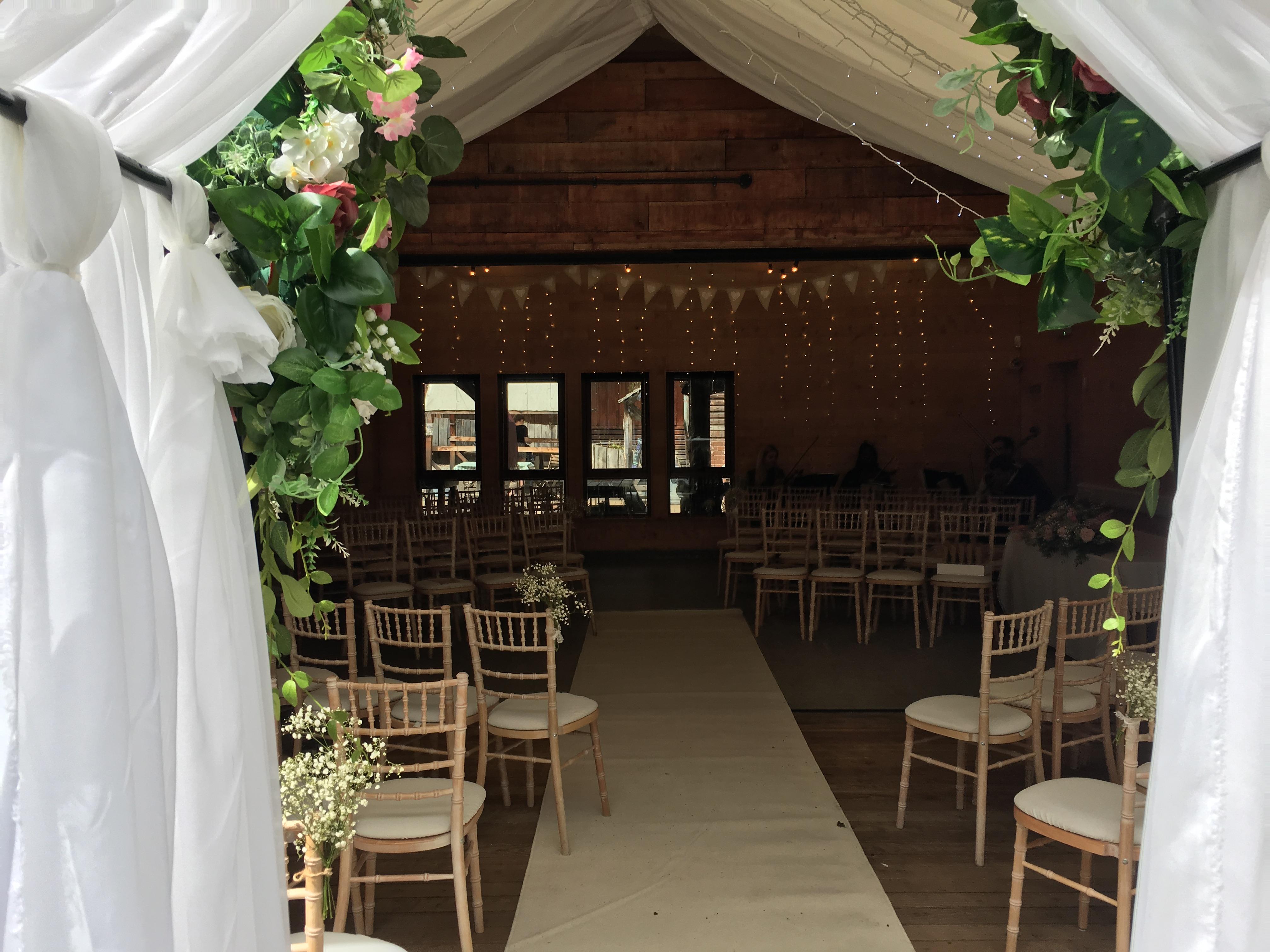 Flower Arch Sophia's Final Touch - Venue Styling - Weddings