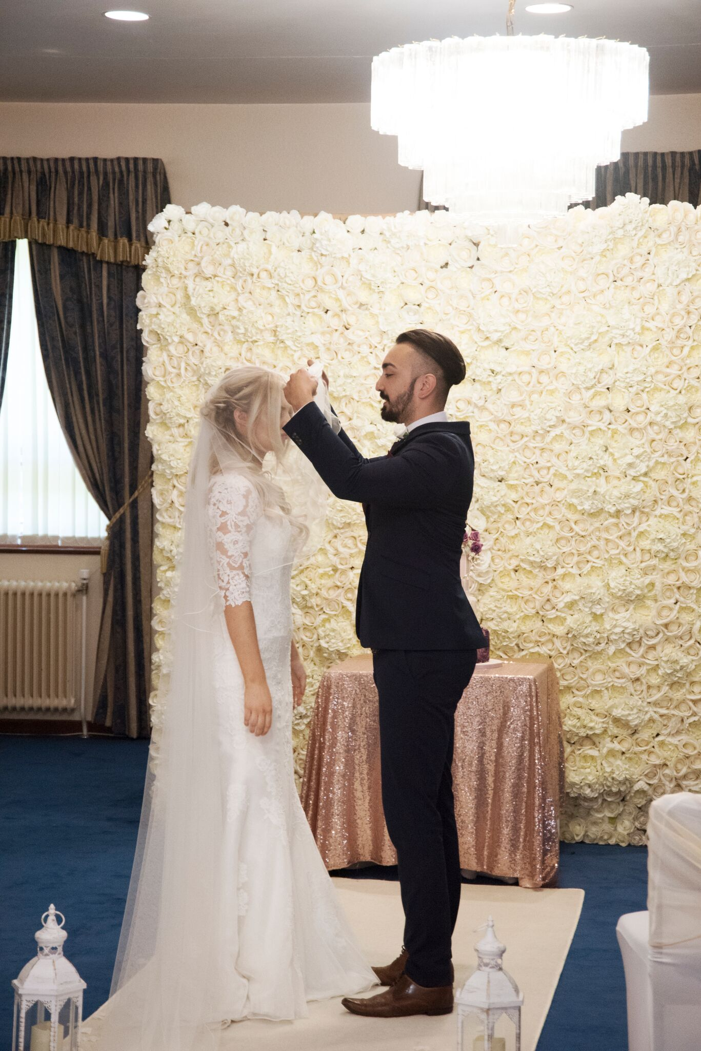 Flower wall Photography - Adele Drummond Sophia's Final Touch - Venue Styling - Weddings