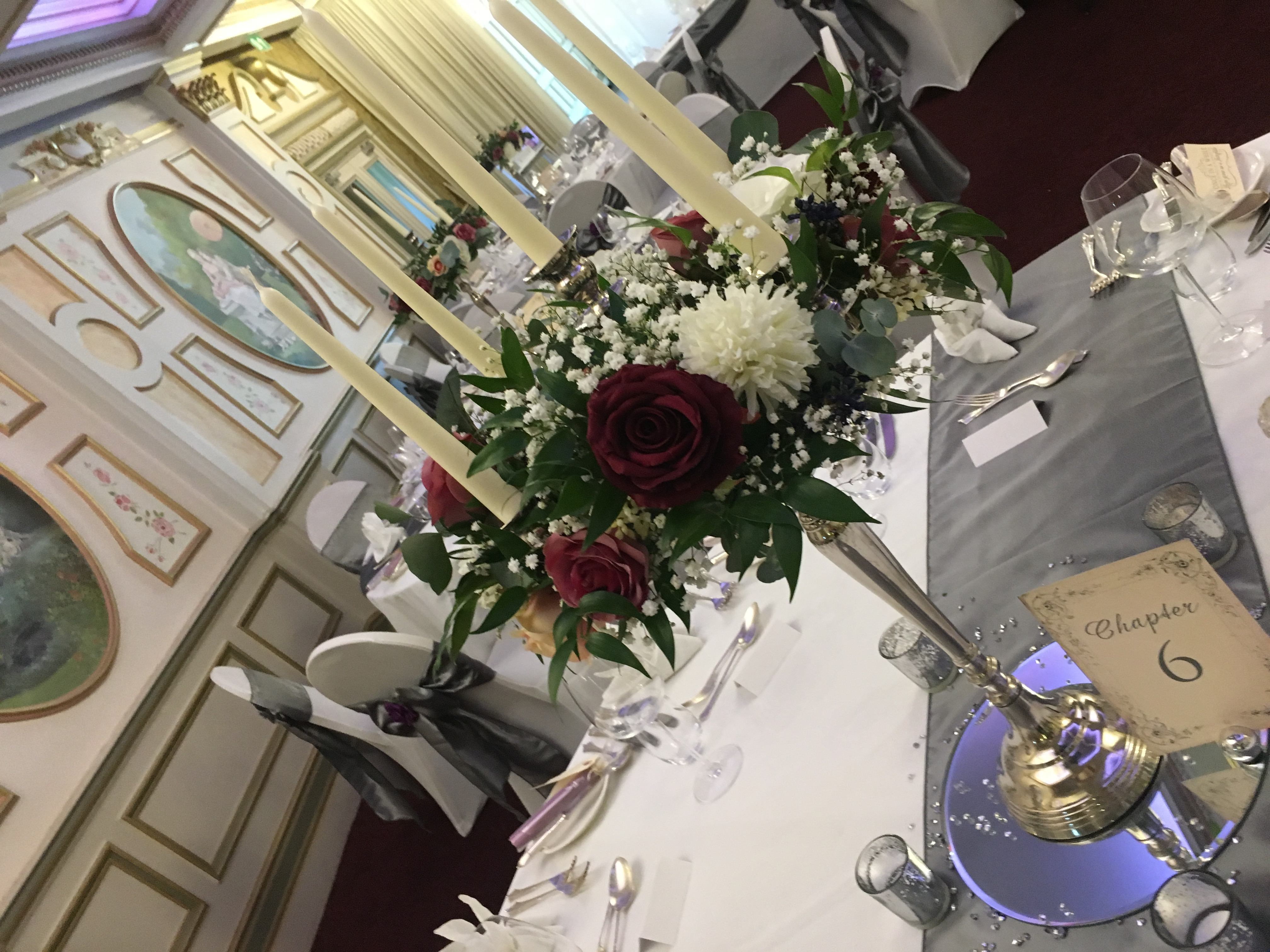Fresh & Silk Floral Ring Sophia's Final Touch - Venue Styling - Weddings