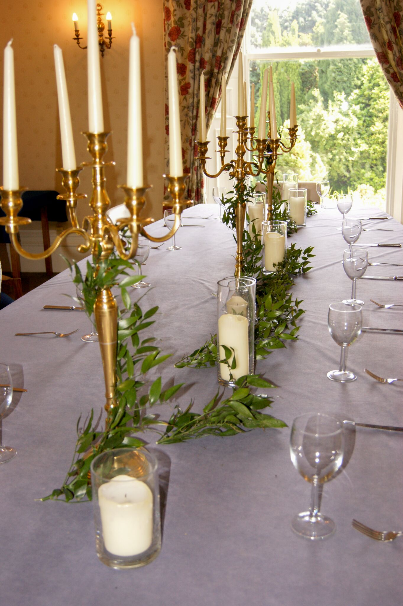 Gold Candelabra Photography - Adele Drummond Sophia's Final Touch - Venue Styling - Weddings