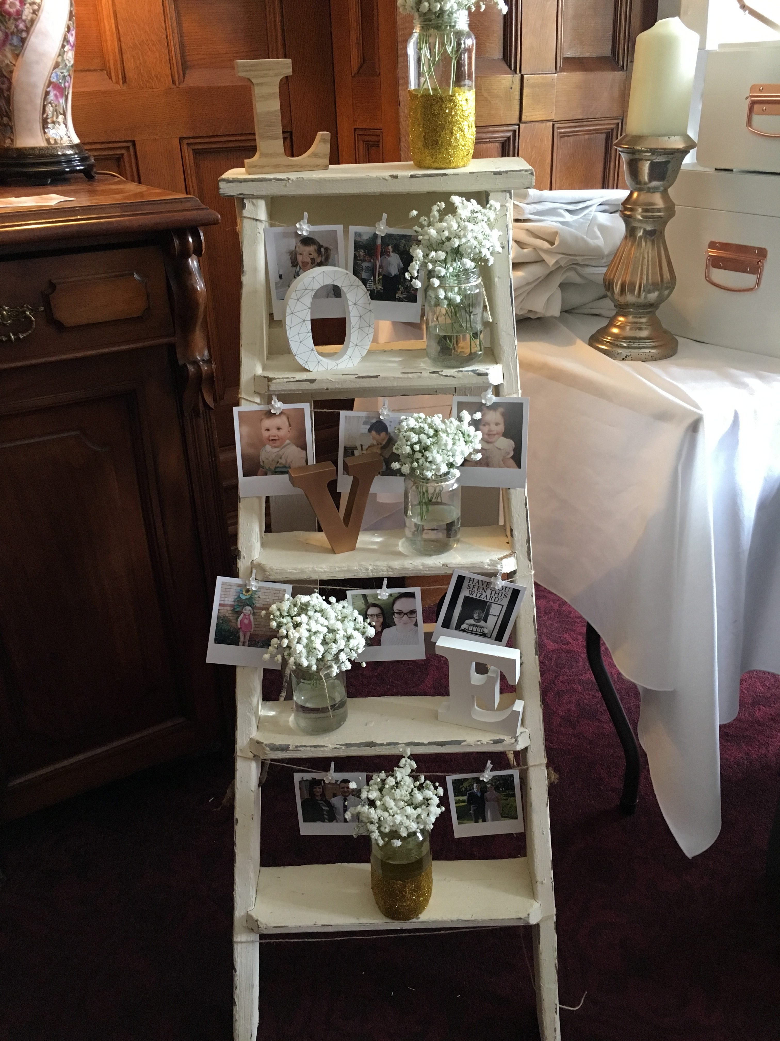 LOVE Personalised Ladder Sophia's Final Touch - Venue Styling - Weddings