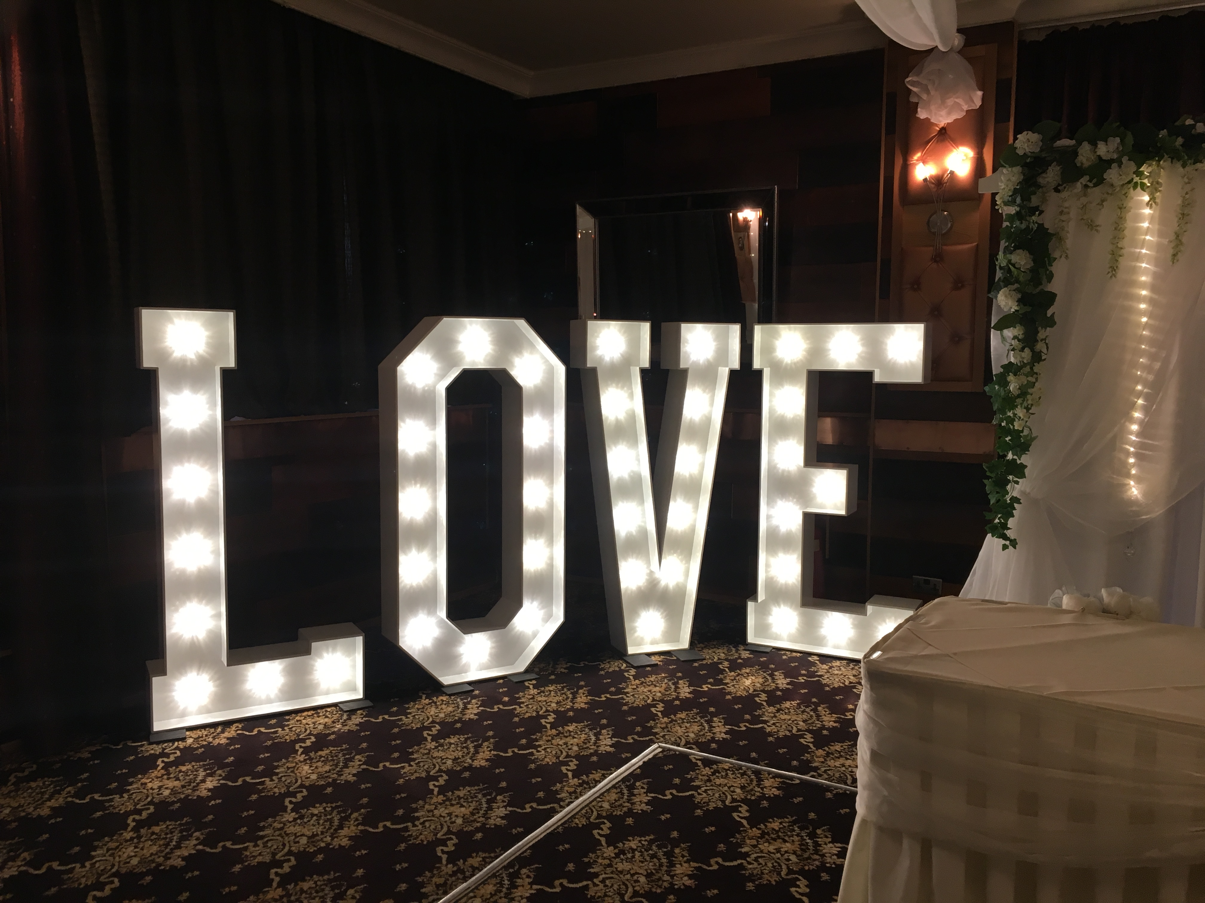 LOVE at The Crown Bawtry Sophia's Final Touch - Venue Styling - Weddings