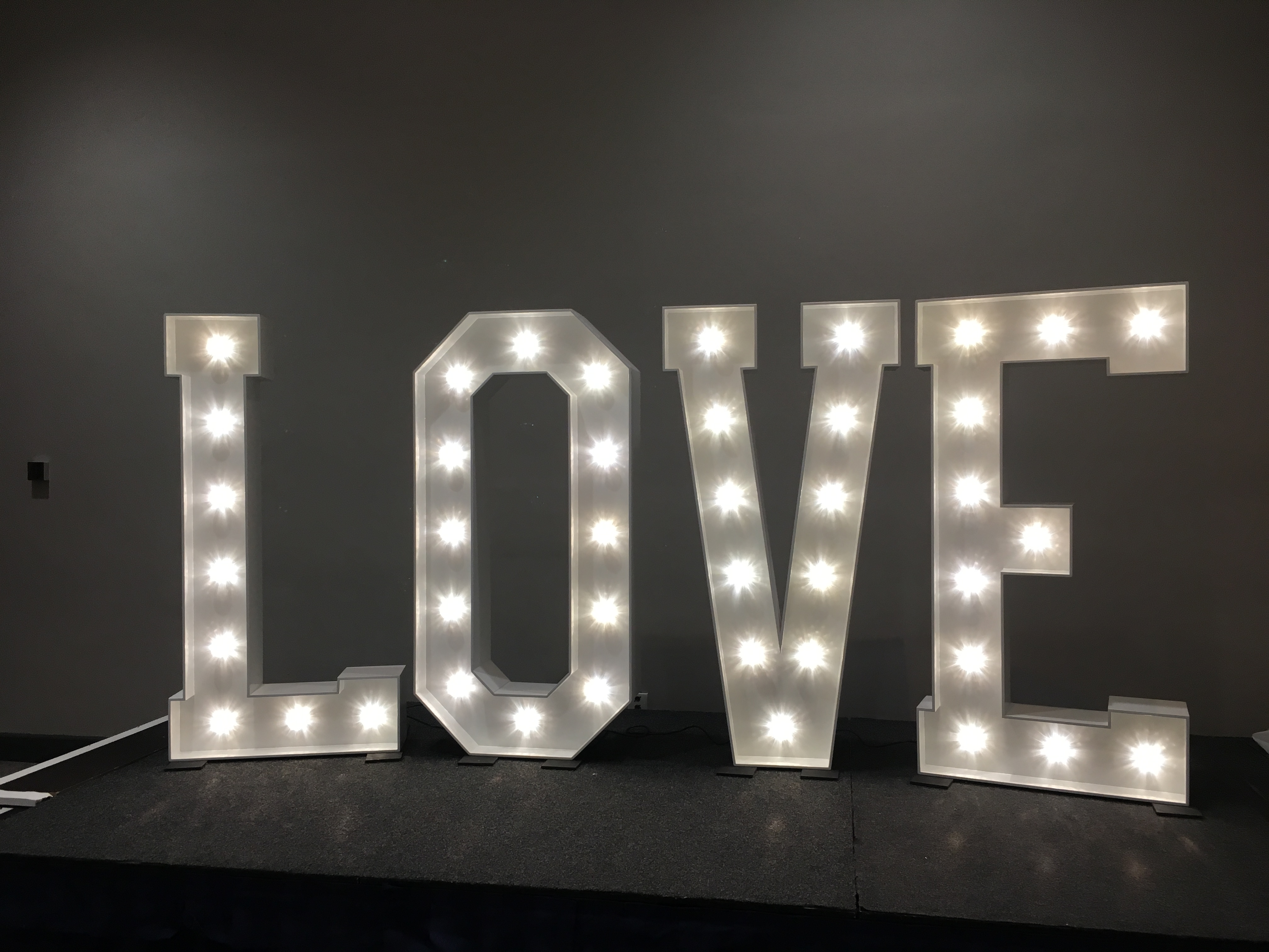 LOVE at The Principal York Sophia's Final Touch - Venue Styling - Weddings