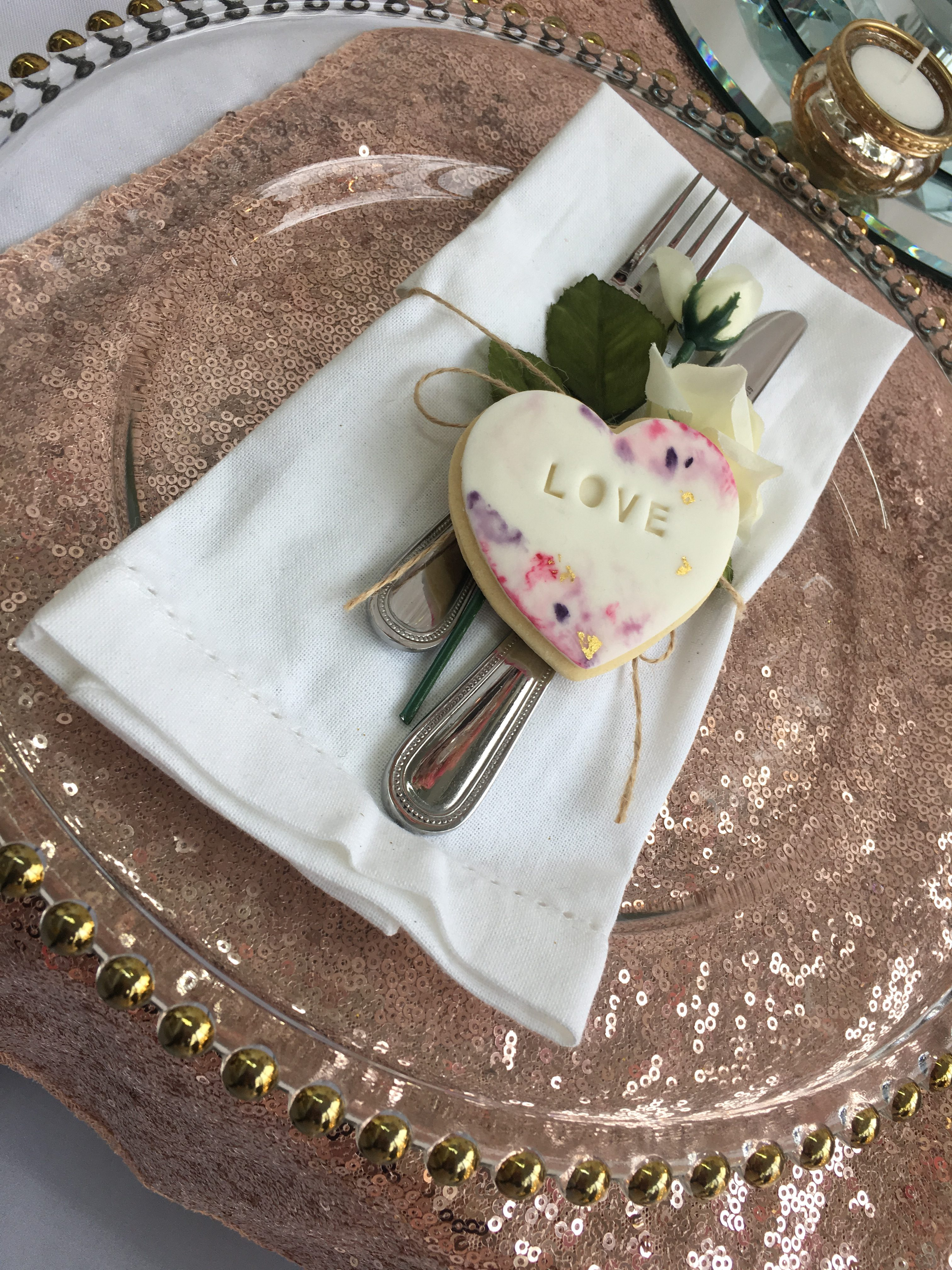 Love Biscuits Favours Sophia's Final Touch - Venue Styling - Weddings