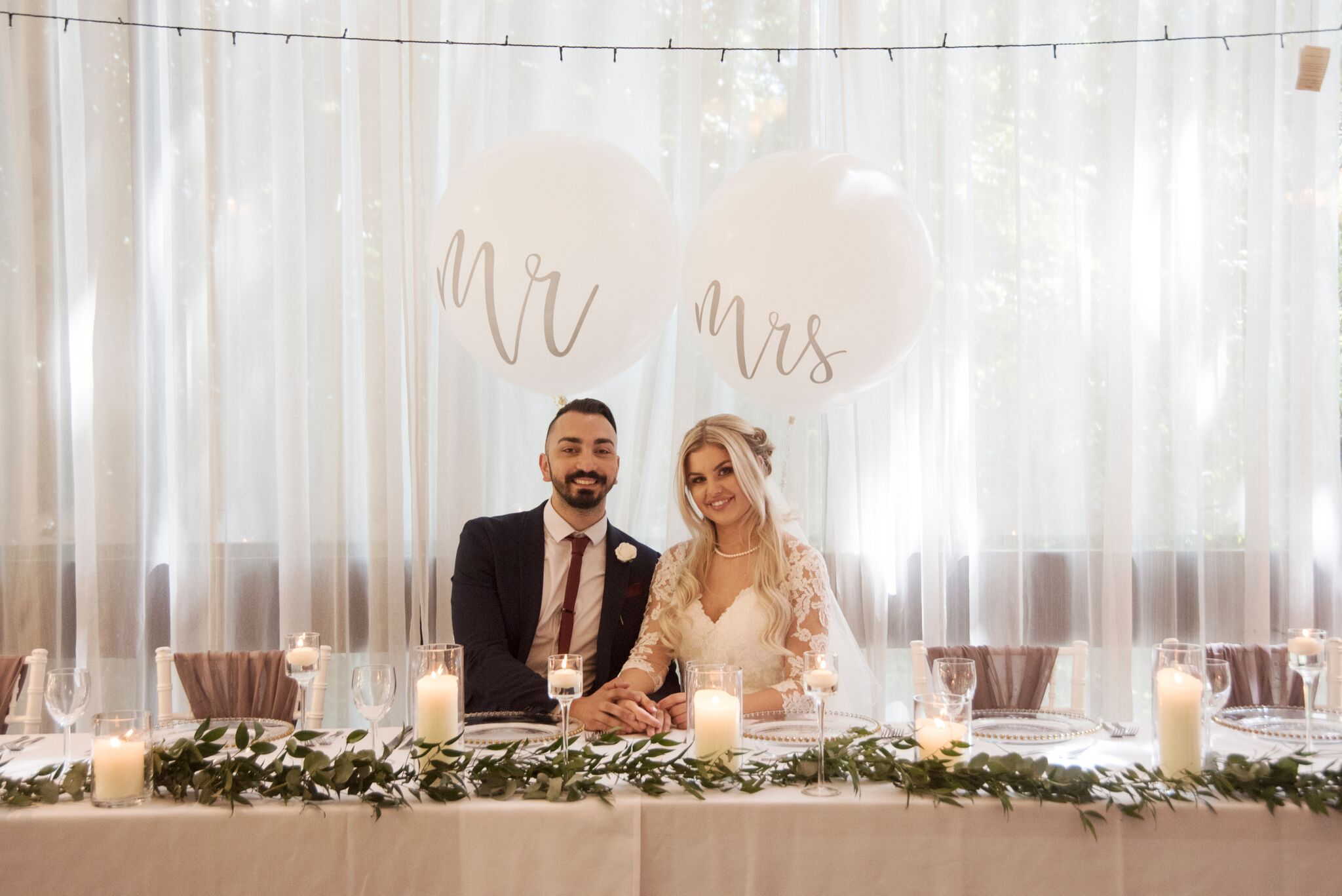 Mr & Mrs Balloons Photography - Adele Drummond Sophia's Final Touch - Venue Styling - Weddings