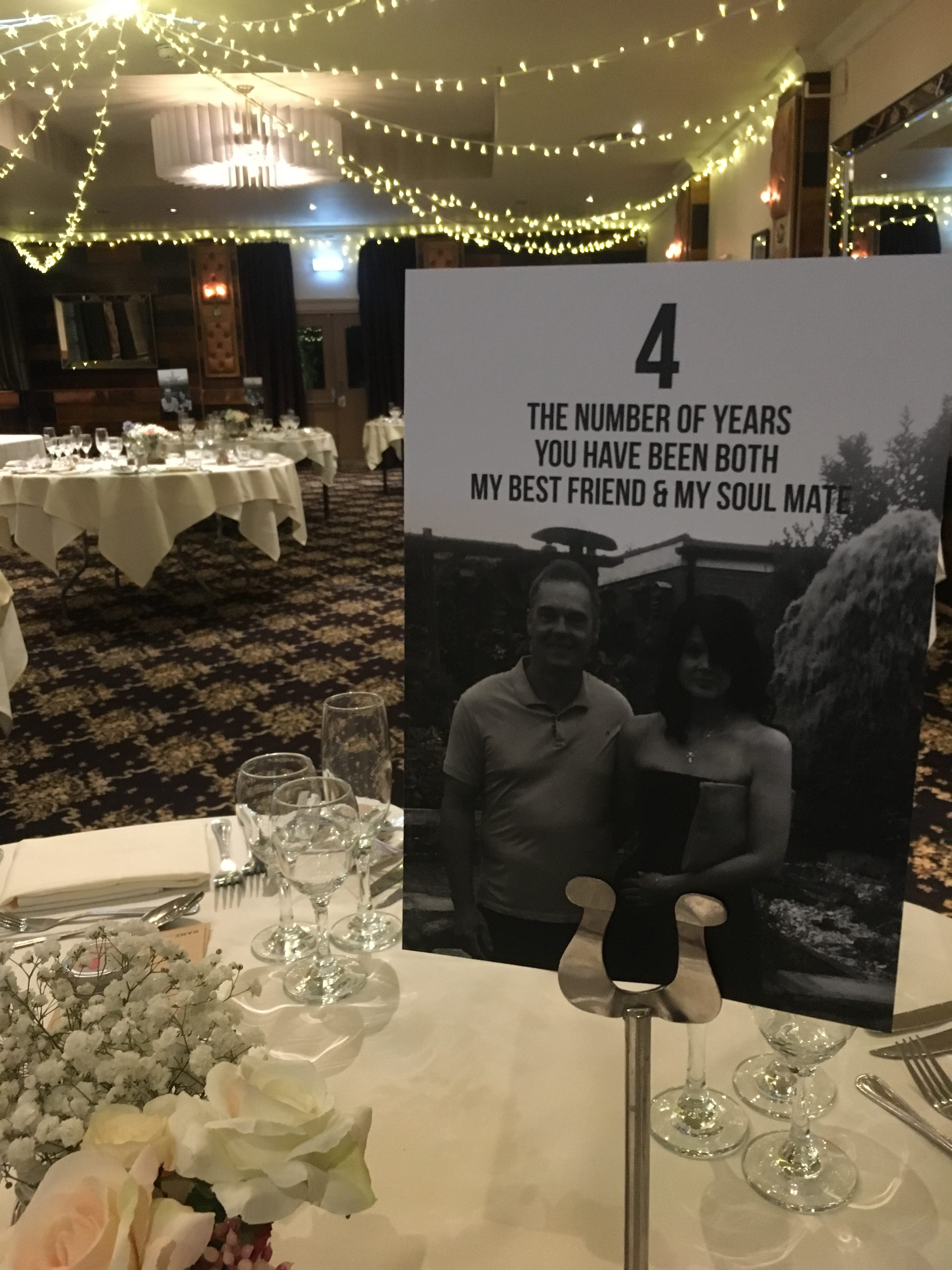 Number Of Days.. Table Numbers - Big Day Print Sophia's Final Touch - Venue Styling - Weddings