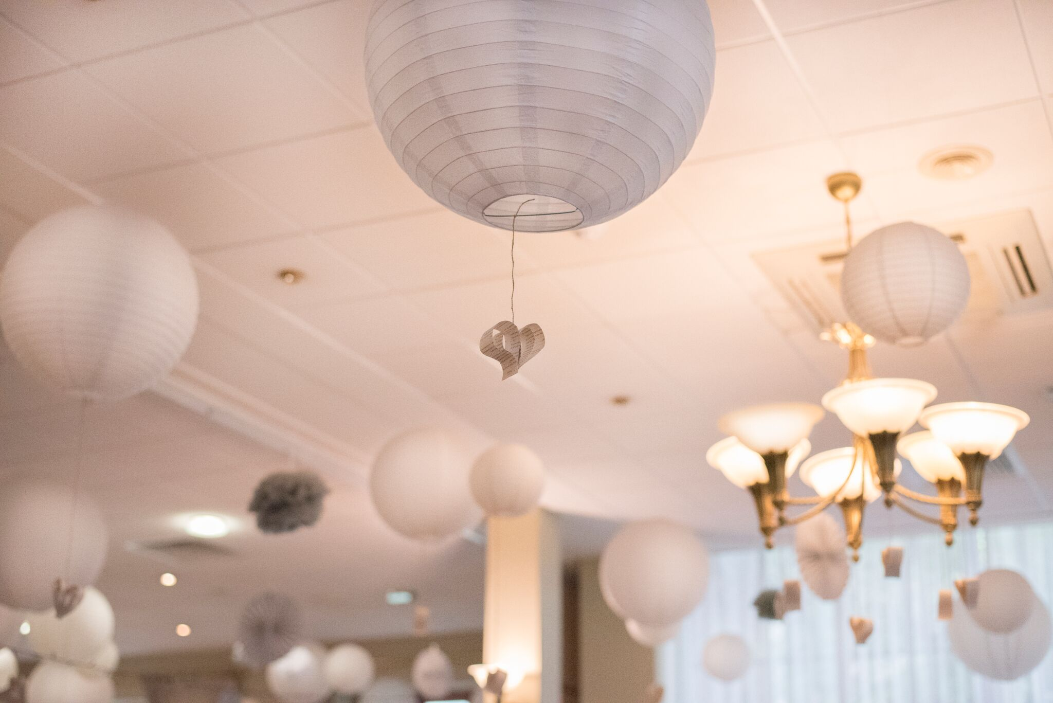 Paper Lanterns - Photography - Adele Drummond Sophia's Final Touch - Venue Styling - Weddings