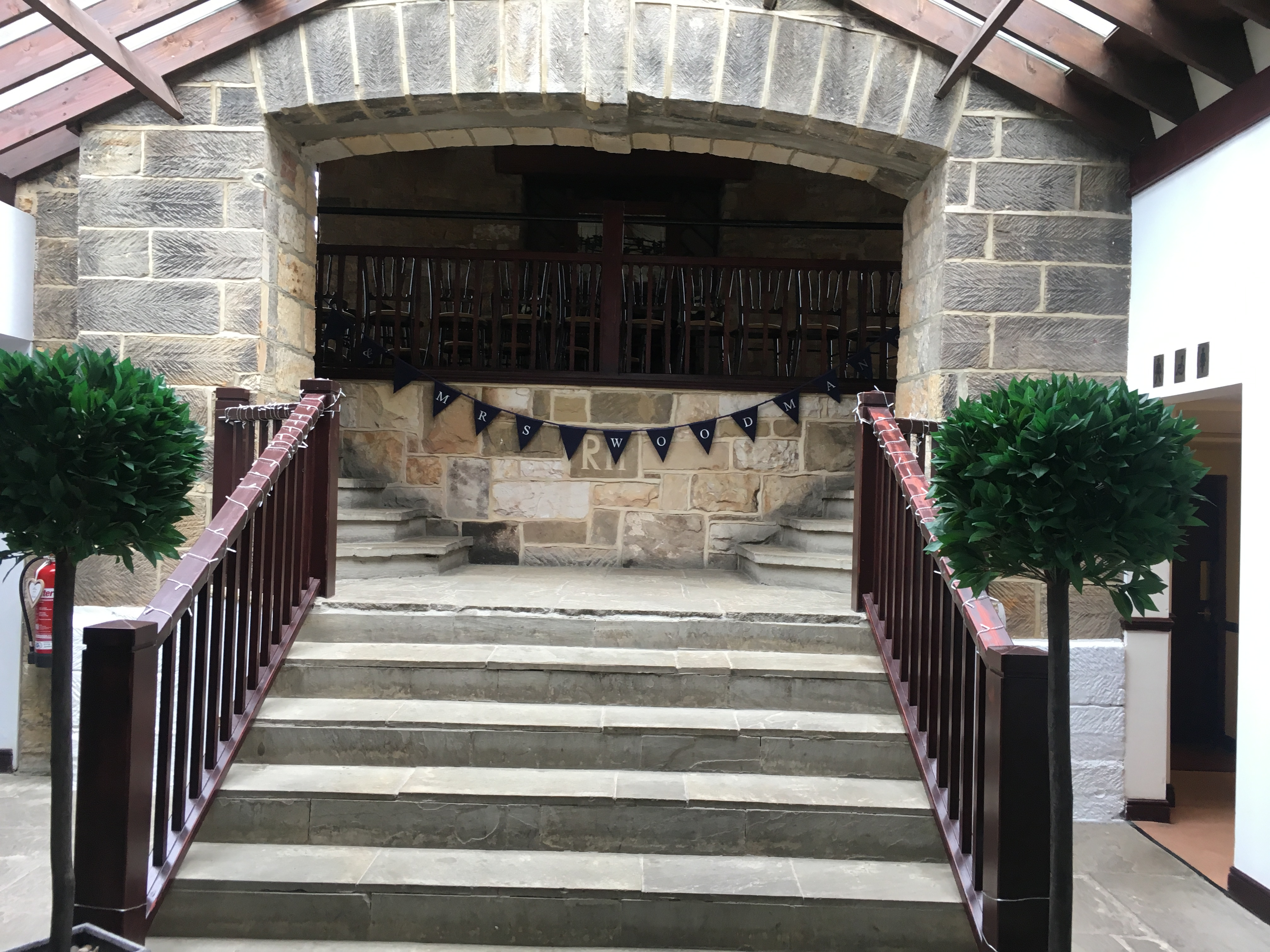 Personalised Bunting Sophia's Final Touch - Venue Styling - Weddings