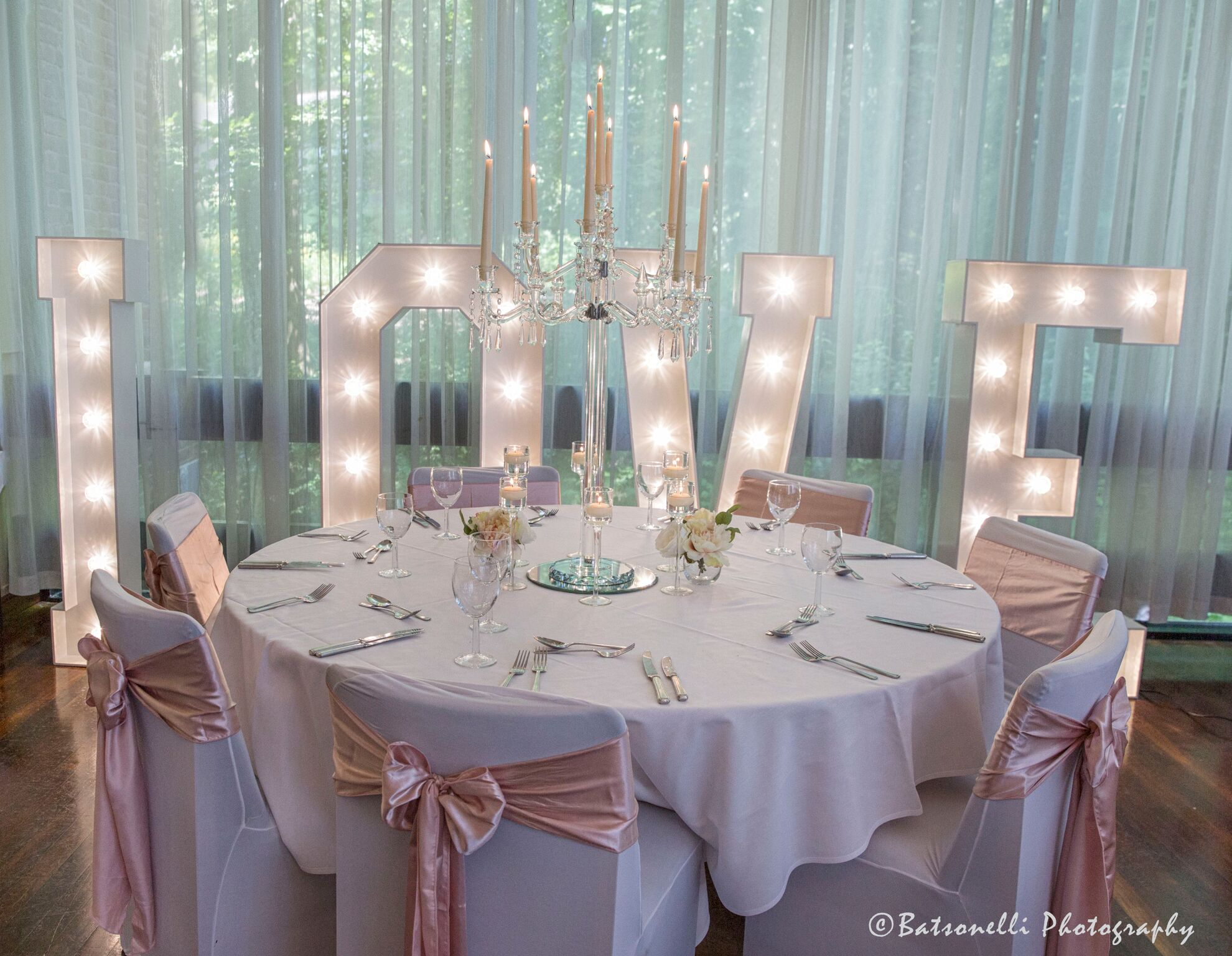 Rose Gold Photography Gill Baston Sophia's Final Touch - Venue Styling - Weddings