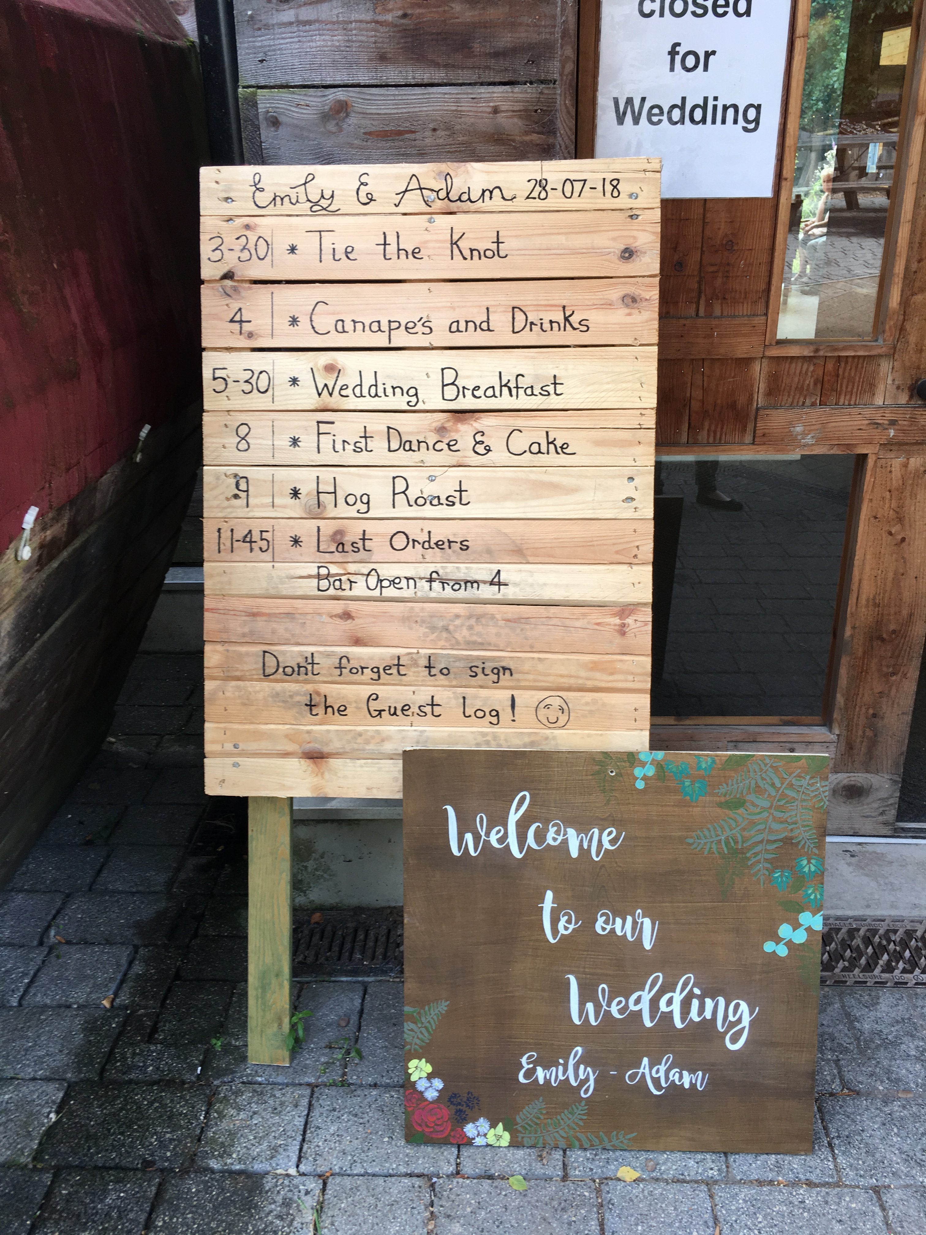 Rustic Wedding Signs Sophia's Final Touch - Venue Styling - Weddings