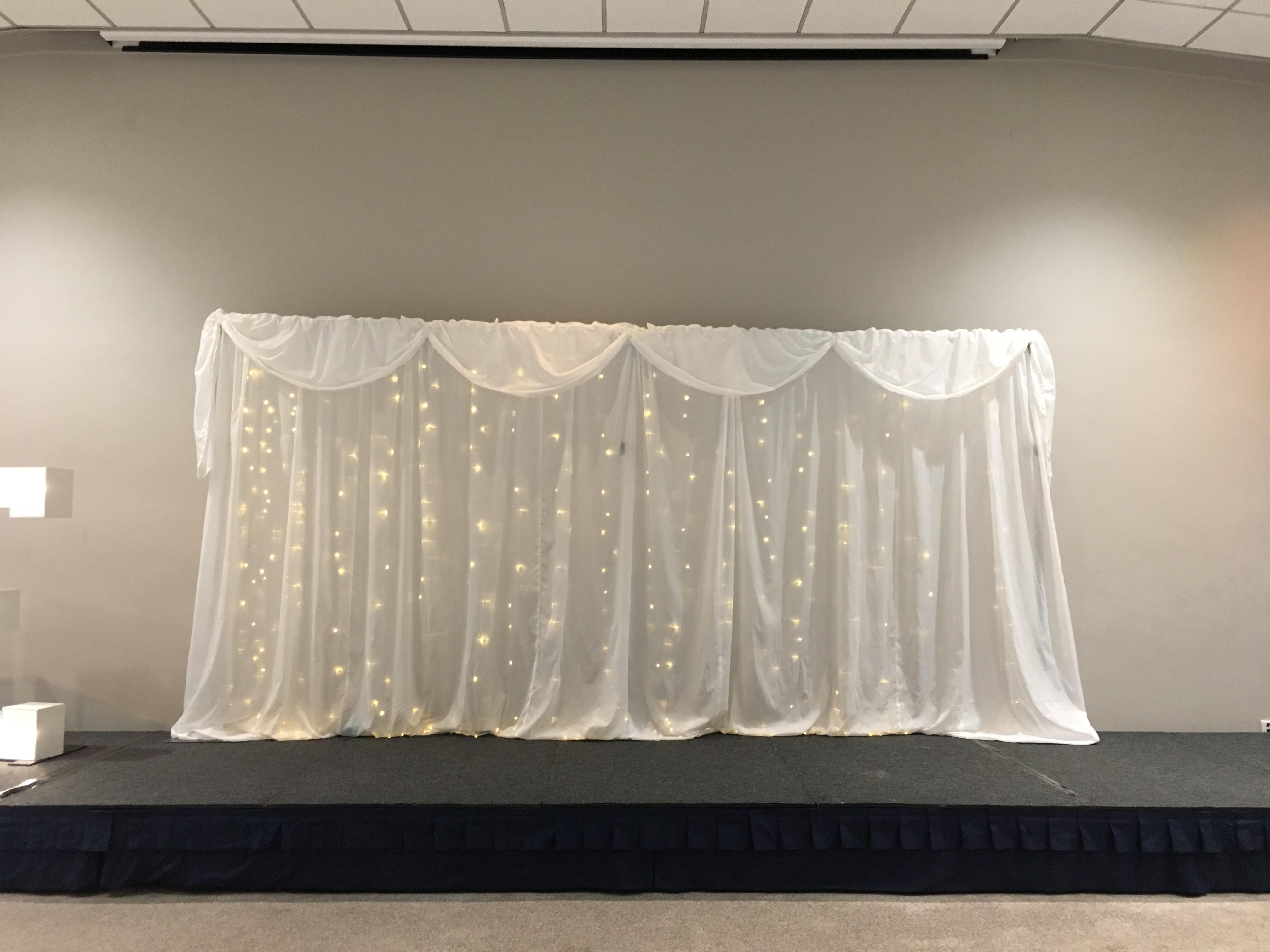 Twinkle Starlight Backdrop Sophia's Final Touch - Venue Styling - Weddings