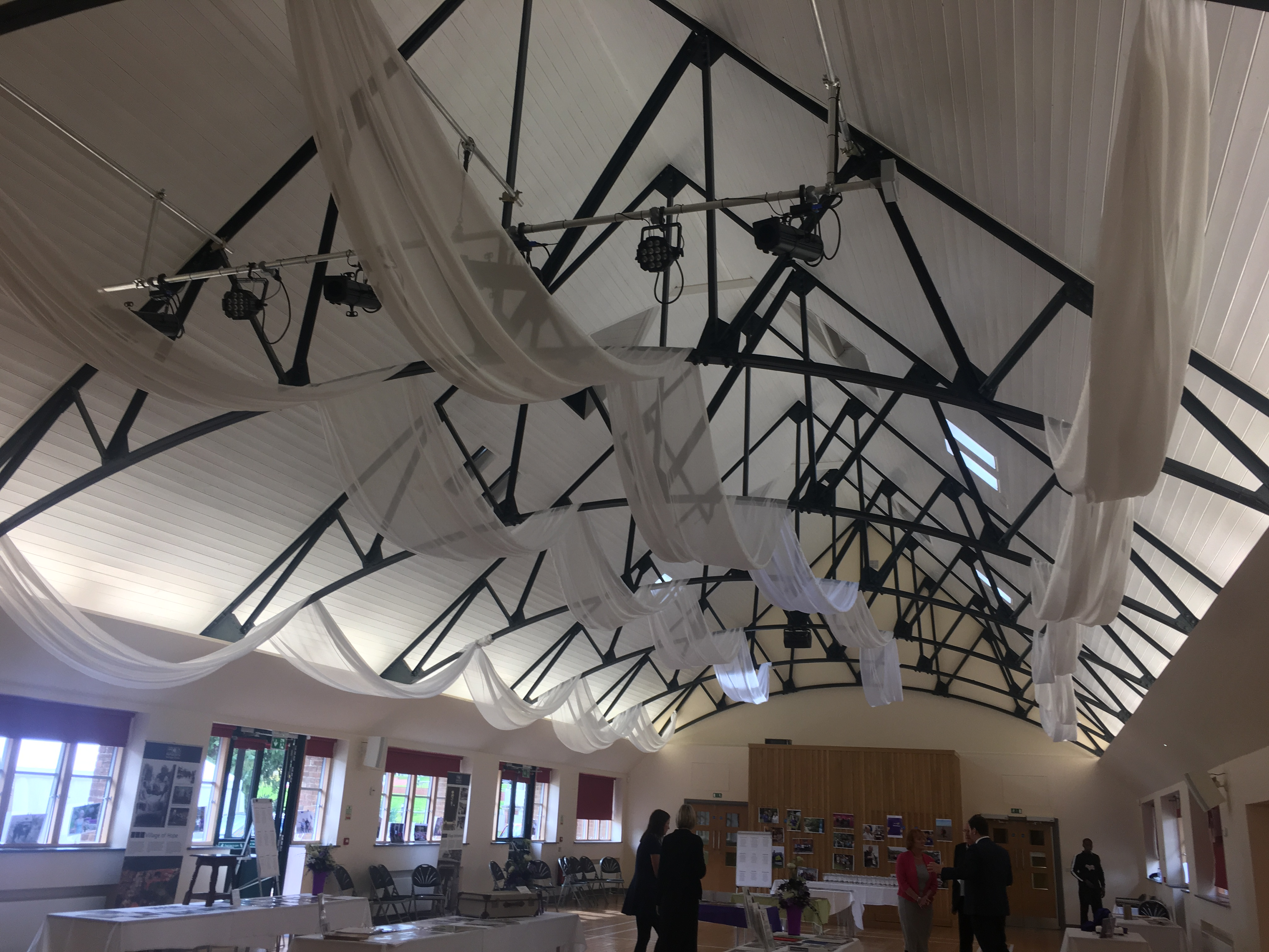 Venue Ceiling Draping Sophia's Final Touch - Venue Styling - Weddings