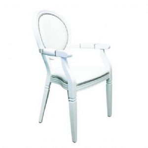 white-louis-chair-with-arms